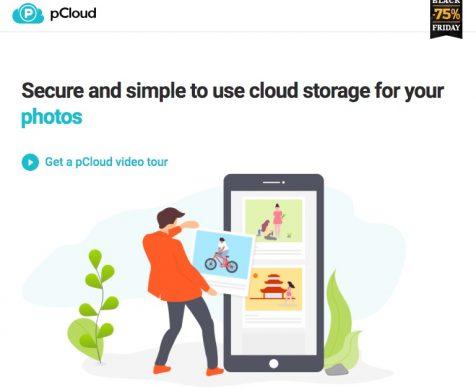 Pcloud website