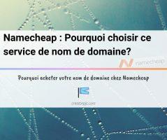 Article Namecheap : Pourquoi choisir ce service de nom de domaine ? Mon avis