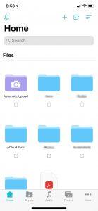 Pcloud iOS