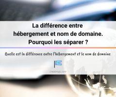 Article Hébergement et nom de domaine : différence et pourquoi les séparer ?