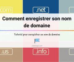 Article Tutoriel : Comment déposer un nom de domaine ?