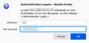 Basic access authentication