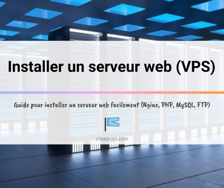 installer un serveur web