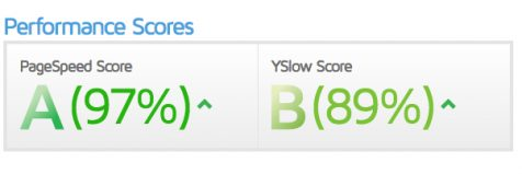 page speed score on gtmetrix